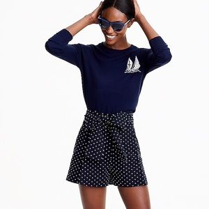 J Crew NWT Sailboat Sweater sz Small Tippi